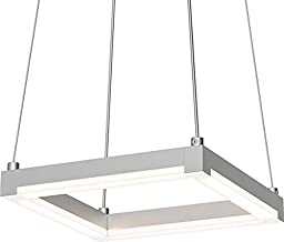 Sonneman 2785-16 9`` LED Pendant from The Stix Square Collection