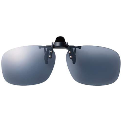 SWANS(スワンズ) 日本製 偏光 サングラス メガネにつける クリップオン 跳ね上げタイプ SCP-23_SMK SMK 偏光スモーク