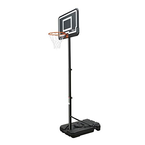 Rakon Pro Court Portable Basketball Hoop & Stand System Height Adjustable 6.5ft -10ft with 44 Inch Backboard