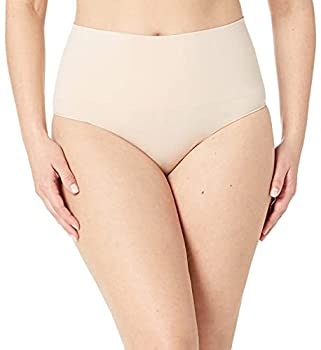 Spanx Shapewear For Women Everday Shaping Tummy Control Panties Brief Soft Nude MD - Regular