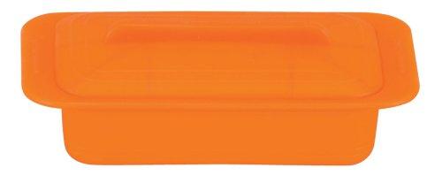 ワールドクリエイト ViV シリコンスチーマー 蒸し器 レンジ調理器 デュエ キャロットオレンジ 59618