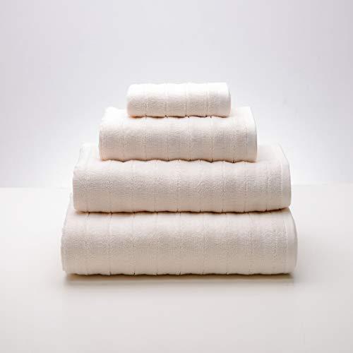 Sancarlos DIAMOND - Toalla con bordado, 100% Algodón rizo, Densidad 500 gr/m2, Color Gris, Tamaño Ducha, 30x50 cm