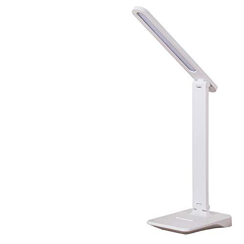 WWWL Lámpara de escritorio 4000 mAh 2000 mAh LED lámpara de escritorio 3 modo iluminación brillo recargable USB aprendizaje lámpara de mesa para estudio 4000 mAh