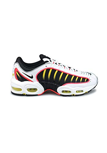 Nike Air Max Tailwind IV Herren Running Trainers AQ2567 Sneakers Schuhe (UK 12 US 13 EU 47.5, Black White Bright Crimson 109)