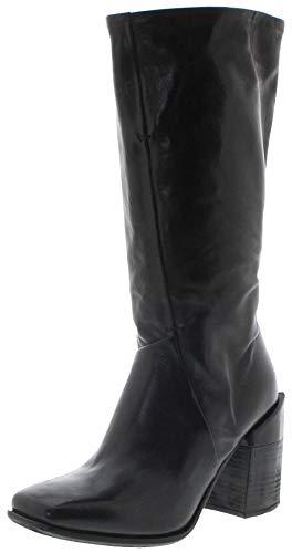 FB Fashion Boots Damen Stiefel 585302 Nero Airsteps Stiefel Lederstiefel Schwarz inkl. Schuhdeo 38 EU