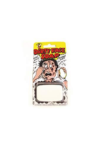 Seife unordentlich Schwärzung - weiße Seife, dass schwarze Lava - Dirty Gesicht Seife - Farce und Greifern