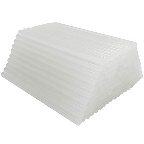 FANGZIDM 150 x 7mm Bâtons de Colle Thermofusible Adhésif Super Collant Transparent Universel Pack de 110PCS