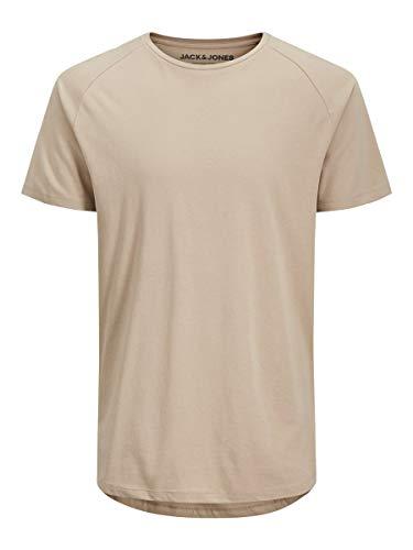 JACK & JONES Male T-Shirt Bio-Baumwoll LCrockery