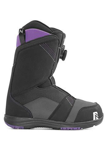 Nidecker Maya BOA Snowboard Boots (Black, 9.5) - Women's