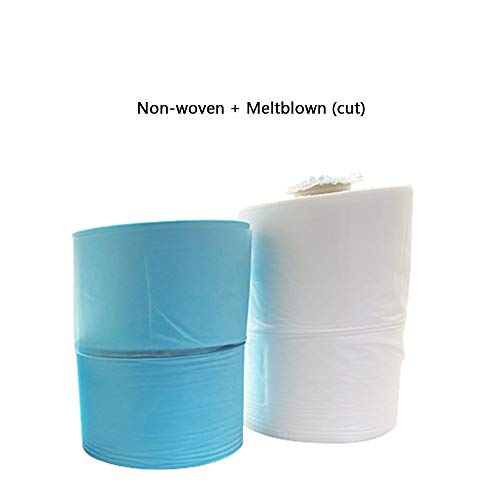 Disposable waterproof and breathable non-woven fabric, Anti-static soft and comfortable meltblown cloth, DIY semi-finished materials, non-woven fabric, nose bridge clip, elastic rope, meltblown clot