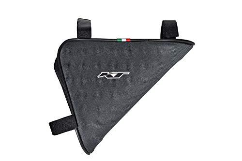 Sac Triangle de vèlo. Sacoche de Cadre. Sacoche de Cyclisme Impermeable. VTT Vèlo. Gravel Bike. / Triangle Bicycle Bag. Waterproof. Travel Equipment. MTB/Race Bike/City Bike. Made in Italy (TEC_54_B)