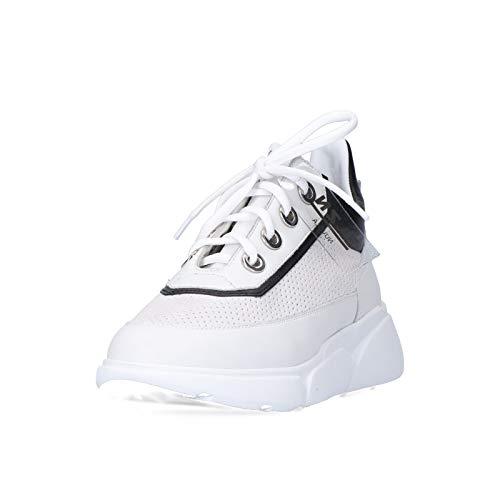 ELVIO ZANON Zapatillas para mujer Nuvola Elzn EL7301 ELZCMBCOMIA Blanco Size: 37 EU