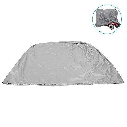 Scooter Cover, Lichtgewicht Outdoor Stofdichte Waterdichte Cover Protector Gebruikt voor Elektrische Fiets Mobiliteit Scooter Grijs