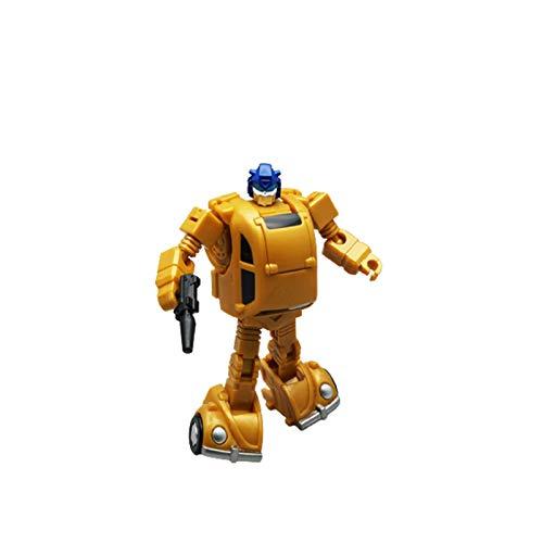 PLMN Juguetes de deformación, Robot de Bolsillo de pequeña Escala Robot Movable Doll Toy