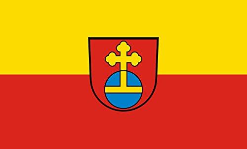 Unbekannt magFlags Tisch-Fahne/Tisch-Flagge: Eppelheim 15x25cm inkl. Tisch-Ständer