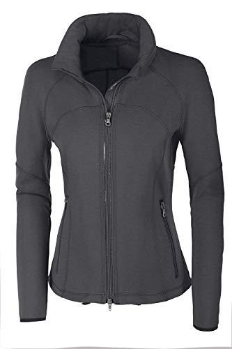 Pikeur Damen Sommerfleece Jacke PK_ANNI, Sommerfleecejacke Größe 46, Farbe Olive