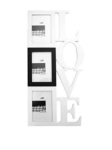LO+DEMODA hangende fotolijst Love, voor 3 foto's, meerkleurig, 1.1000000000000001x26x54 cm