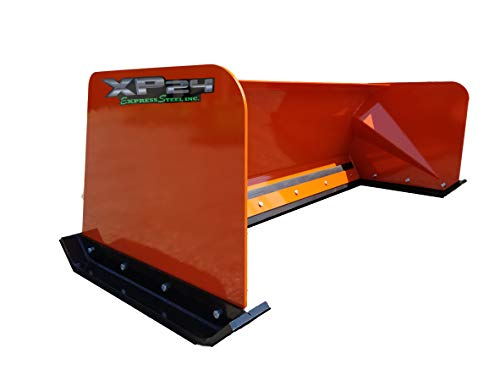 Best Deals! 6' XP24 Skid Steer Snow Pusher Kubota Orange