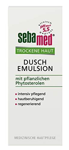 Sebamed Trockene Haut Dusch-Emulsion 200ml, verbindet hautschonende Waschaktivstoffe mit intensiv wirkenden Pflegestoffen