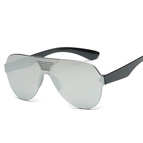 MOJINGYAN Zonnebrillen,2019 Een Stuk Klassieke Zonnebril Vrouwen Mannen Snoepjes Kleur Rijden Zonnebrillen Retro Zwart Wit