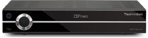 TechniSat Digit HD4 CX HDTV-Kabelreceiver (HDMI, Upscaler 1080i, 2X Scart-Anschlüsse, Conax-Kartenleser, PVR-Ready) schwarz