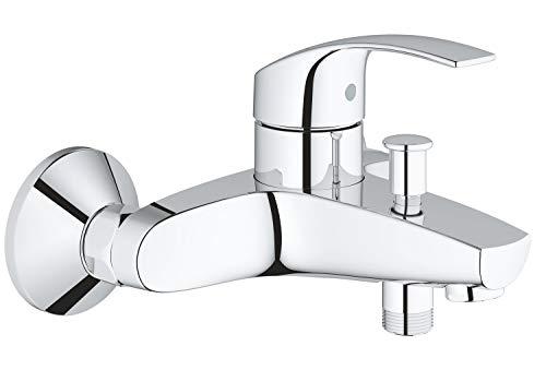 Grohe Eurosmart - Grifo para baño y ducha, inversor automático, tecnología Grohe SilkMove (Ref. 33300002)