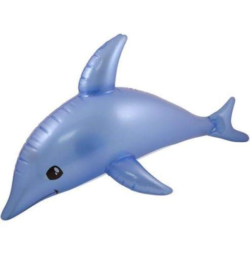 Henbrandt Lot de 5 dauphins gonflables Plage de bord de mer 53 cm
