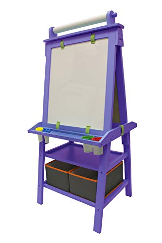 Little Partners 2-Sided A-Frame Art Easel with...