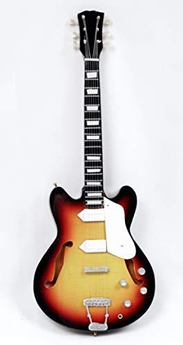 Miniatur Gitarre Deko Gitarre Guitar Gibson 26 cm sunburst #199