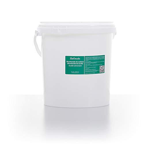 Bicarbonate de Soude 7kg - Qualité alimentaire - EluOecolo (doseur à l'intérieur) Made in France