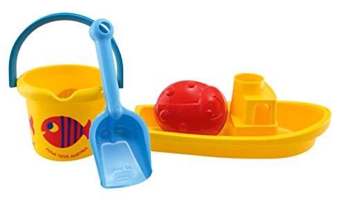 Gowi 558-32 Sand Set Boot, Sandkästen und Sandspielzeug