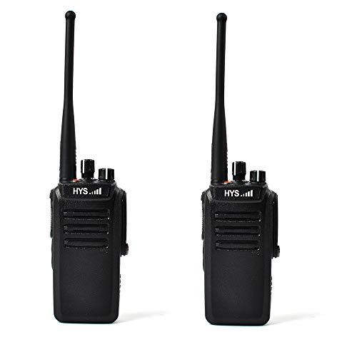 Best Review Of HYS TC-WP10W Long Range Walkie Talkies UHF 400-480MHz IP67 Professional Waterproof/Du...