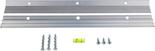 OOK by Hillman Hanging-Hardware 533208 Hangman French Cleat Picture Hanger Kit with Wall Dogs 9 Piece, Aluminum