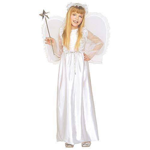 Widmann 33458 Kinderkostüm Engel, Kleid, Flügel und Heiligenschein