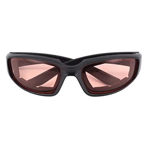 EmNarsissus Gafas para Montar en Motocicleta, cómodas y Resistentes al Viento, Gafas para Moto de Agua con Relleno de Espuma, Lentes de policarbonato antiviento y Polvo