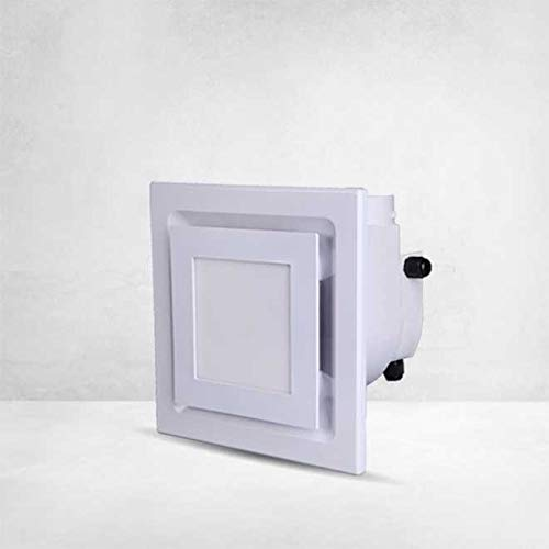 HIGHLINE Exhaust Ventilation Fan and Light Combination for Bathroom and Home, 100 CFM, 2.5 Sones, White