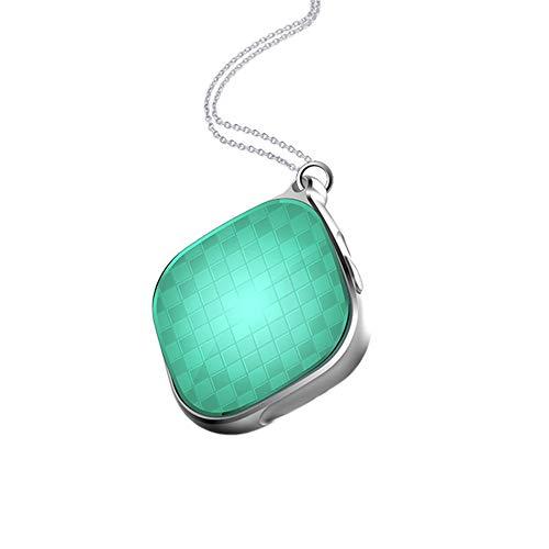 Eqerlian Hängende Halskette, multifunktions Miniatur Mini schmuck, weltweiter Einsatz (grün)