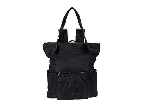 Anne Klein Women's Convertible Backpack, Black, 12' L x 4.5' D x 14' H