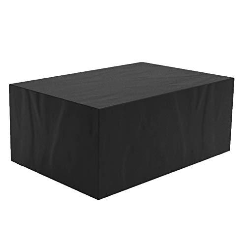 ZXHQ Patio Muebles Protectora 200x160x80cm, Cubierta De Muebles JardíN, JardíN Mesa Funda Resistente ProteccióN Lluvia Anti Rayos UV Resistente Al Polvo para Muebles De Exterior Patio