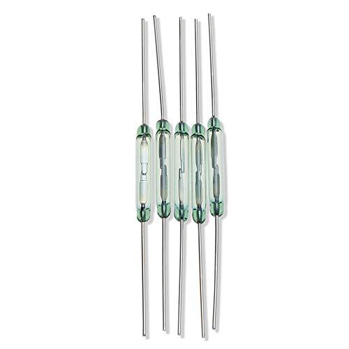 Herramientas de Bricolaje, Tipo seco Reed/Tubo de interruptores magnéticos (5PCS, diámetro 1,8 mm)