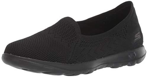 Skechers Women's GO Walk LITE - Ruby Shoe, Black, 5 M US