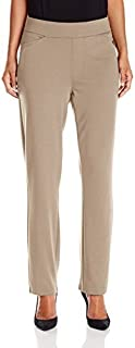 Chic Classic Collection Women's Knit Pull-On Pant