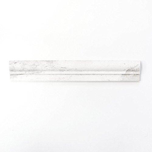Borduursel marmer natuursteen ivoor profiel Botticino antiek marmer voor muur badkamer douche keuken mozaïekmat mozaïekplaat | 10 randen