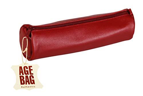 Clairefontaine 77029C Schlamperm Age Bag (rund groß, 21 x 6 cm) 1 Stück rot