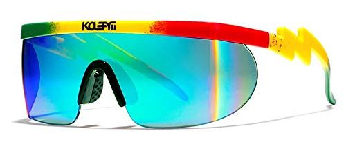 KDEAM UV400 Polarized Cycling Sunglasses for Men & Women,Outdoor Sport Coating Helm Glasses 100% UV Protection KD3596