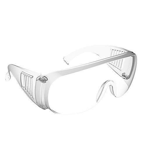 Gafas Protectoras - Gafas de Seguridad Lentes de Seguridad Antivaho Bloquear Viento y Arena, Polvo, Rayos Uva y Gotas o Salpicaduras,para Laboratorio,Agricultura,Industria,Protección Personal,1PCS