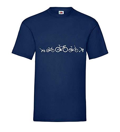 Fiets Evolution racefiets mannen T-shirt - shirt84.de