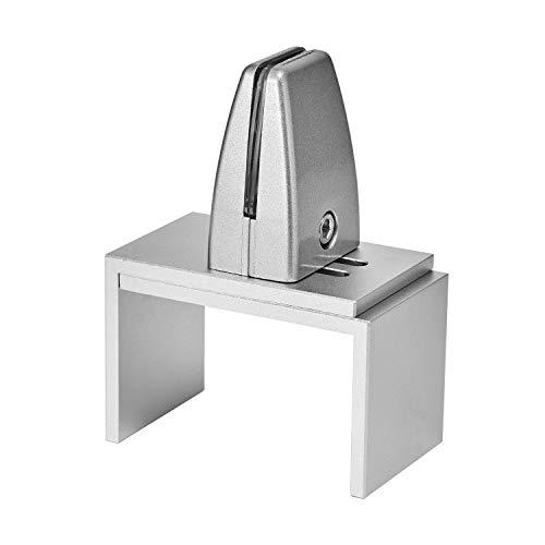 Zetek Sneeze Guard Clamp Support - Cubicle Panel Extenders Bracket 2-3/4 to 4-1/4 inch