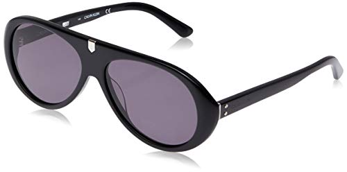 Calvin Klein Sonnenbrille Ck18502S 1 Gafas de sol, Negro (Schwarz), 58.0 Unisex Adulto