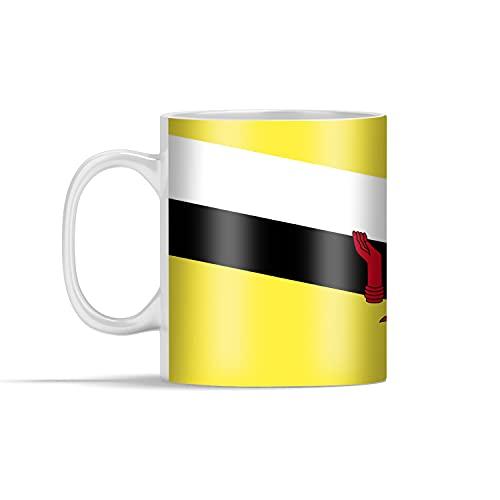 Tasse - Illustration der Flagge von Brunei - 350 ml